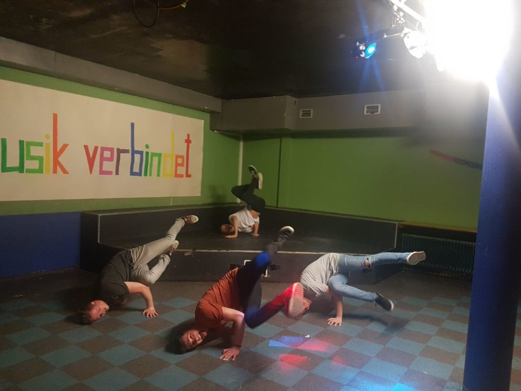 Musik verbindet: Breakdance-Workshop
